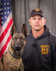 k9 Dog and partner